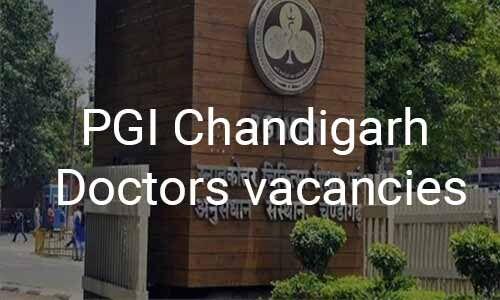 JOB ALERT: PGI Chandigarh Releases Vacancies For Senior Resident Post In 9 Specialties