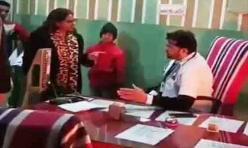 SDM threatens doctor for not vacating chair, Doctors demand suspension