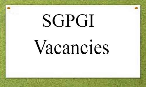 JOB ALERT: SGPGI Lucknow releases vacancies for Senior Resident post in Emergency Medicine