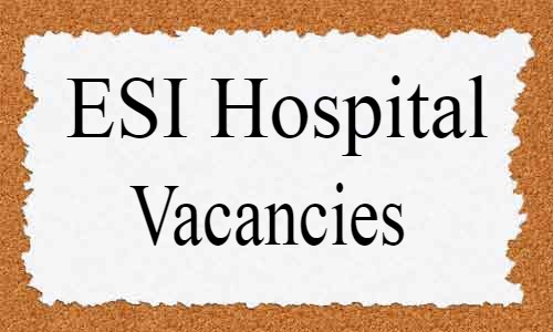 Walk-in-Interview: ESI Hospital Delhi Releases 24 Vacancies For SR, Specialist Posts