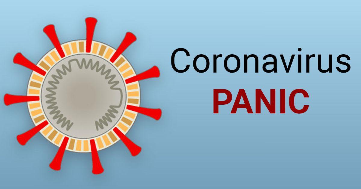 sharing daily coronavirus update creating panic in public