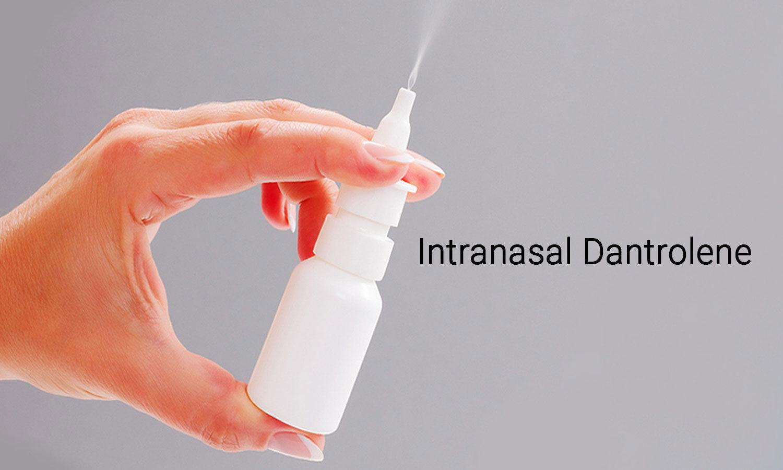 Intranasal dantrolene effective treatment of neurodegenerative disease.
