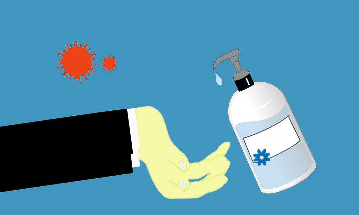 IHBT scientists develop new hand-sanitizer