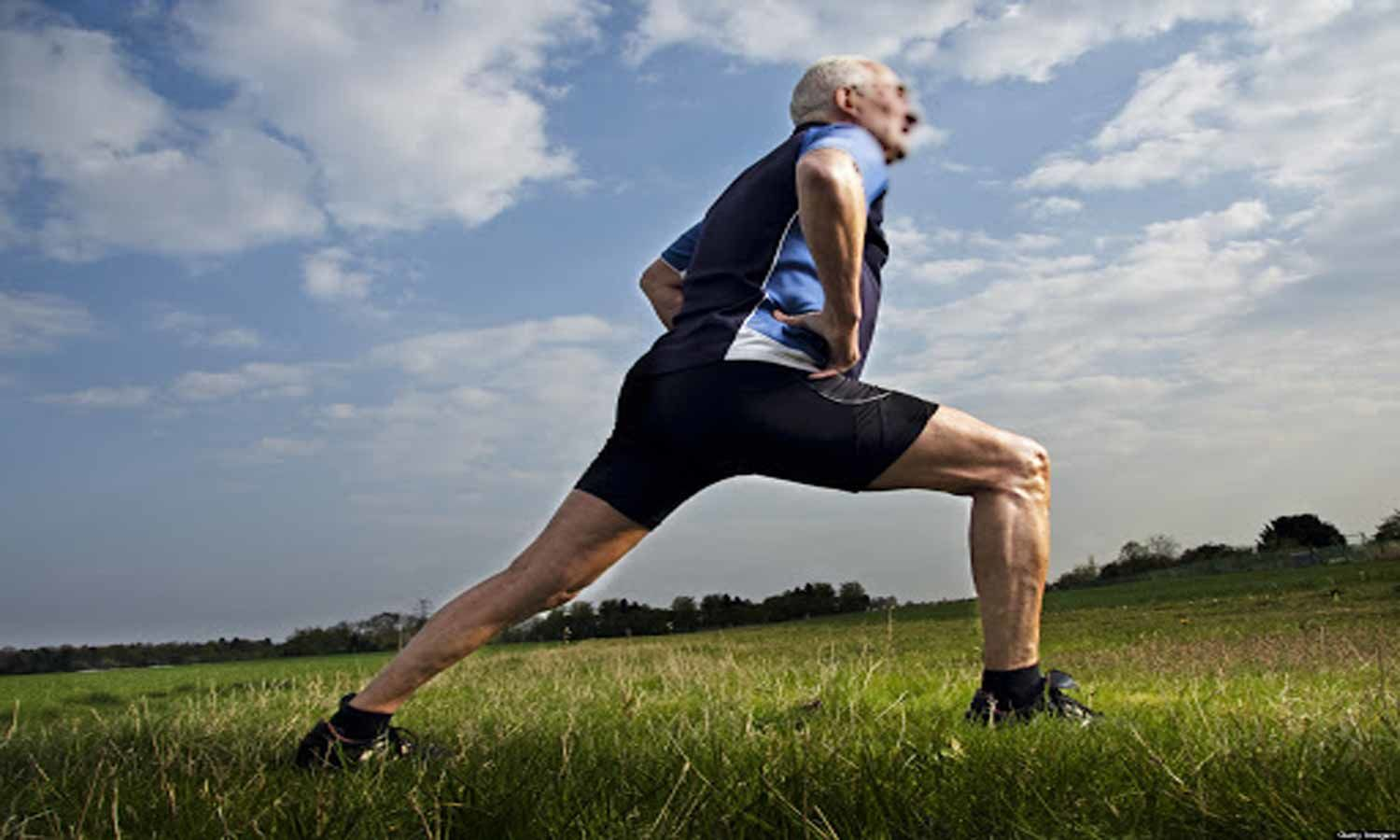 Physically active older veterans more prone to fall, but hurt themselves less