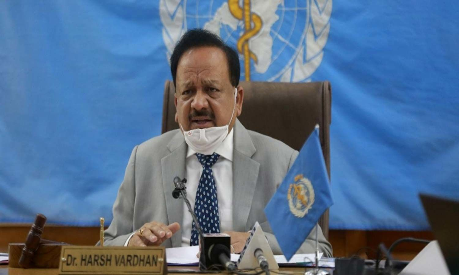 Dr Harsh Vardhan elected as Chair of Executive Board of WHO