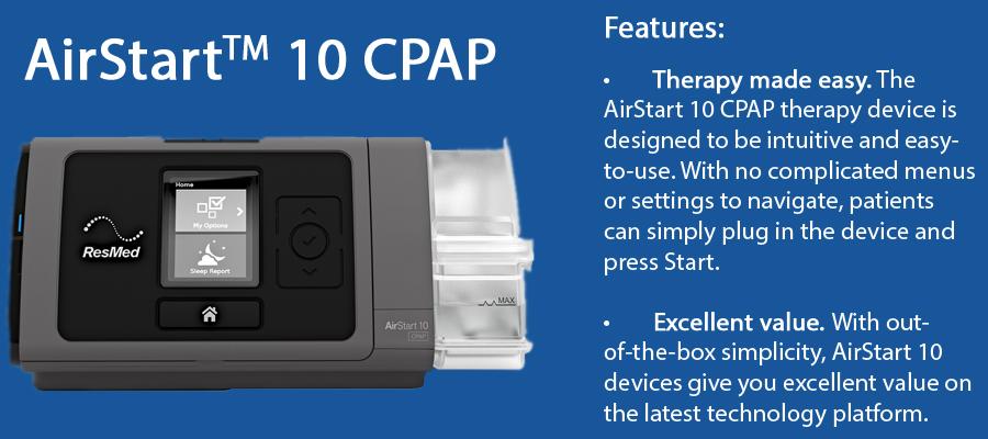 Airstart 10 CPAP