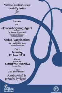 Seminar/ CME on Thromobolysing Agents