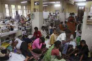 Delhi doesn't have enough hospital Beds-population