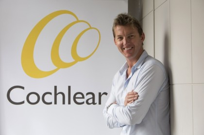 Brett Lee to be Cochlear's Global Hearing Ambassador