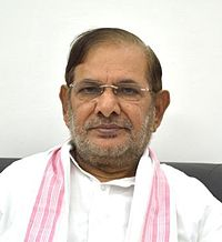 Sharad Yadav admitted to AIIMS post complaints of chest pain