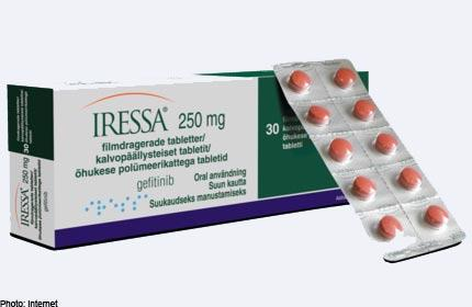 USFDA approves Iressa for first-line treatment of metastatic lung cancer