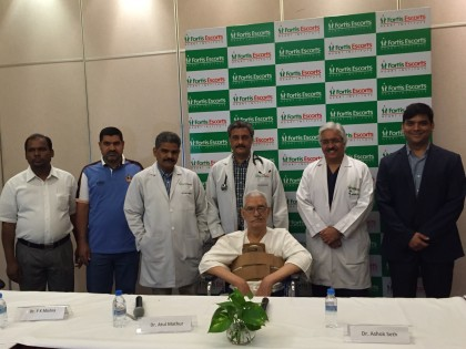 Fortis Escorts performs First Multi-layered Flow Modulator surgery in Asia Pacific