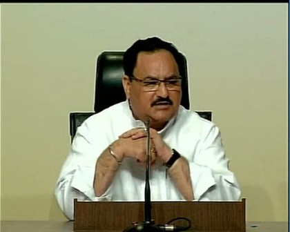 JP Nadda urges nations to work together towards realising SDGs