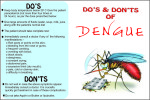 DO'S & DON'TS OF DENGUE 3