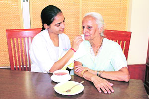 Government to address the special needs of the geriatric elderly.