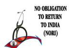 NO OBLIGATION TO RETURN TO INDIA, NORI