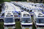 110 ambulances