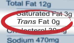 Say no to Trans fats to reduce death risk