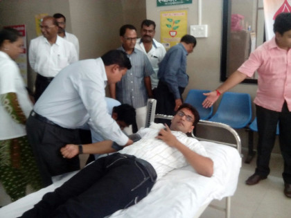 Resident Doctors in Maharashtra organise blood donation drive