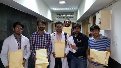 Resident Doctors at AIIMS submit their verdict to the dean