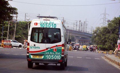 Green Corridor helps Swift Transportation of Live Heart from Gurgaon to Delhi