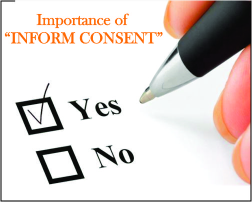 Importance of Informed consent !!