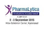 PharmaLytica 2015 to be held in Hyderabad from September 02-03