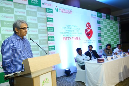 Fortis Malar Hospital, Chennai celebrates milestone of over 50 successful heart transplants