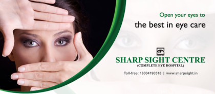 Sharp Eye Centre launches home eye-care services