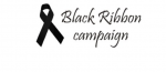 black ribbon