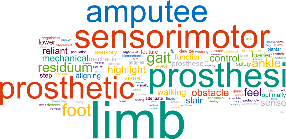 Affordable lower limb prosthetic systems to be available soon