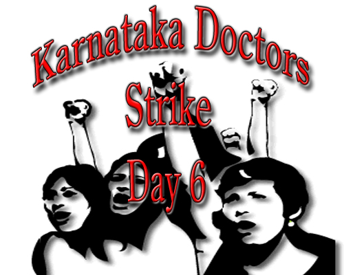 Karnataka Doctors Strike Day 6: KARD meets Minister, Strike Continues