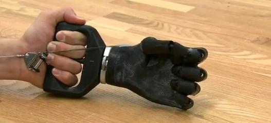 Paralyzed man feels physical sensation through a prosthetic hand