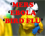MERS EBOLA BIRD FLU
