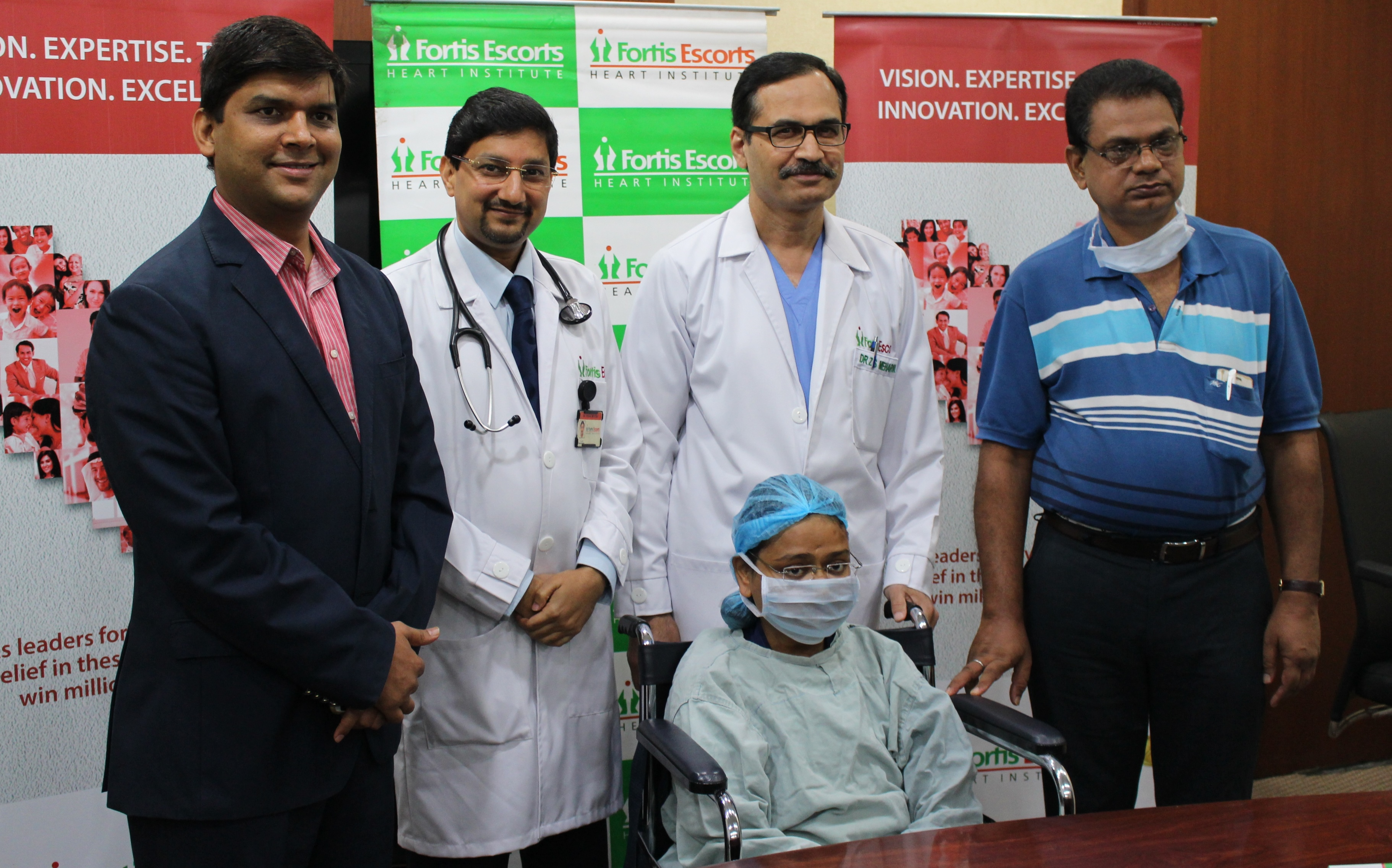 Heart Transplant at Fortis Escorts gives 23 year old a new life