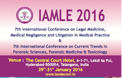 7th International Conference on Legal Medicine, Medical Negligence and Litigation in Medical Practice