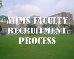 Aiims faculty recruitment process