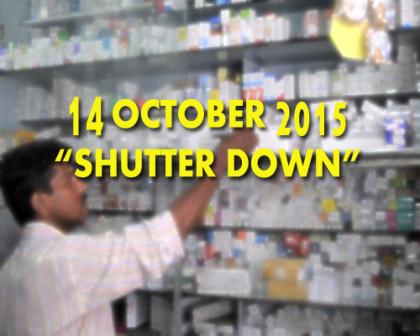 More than 8 Lakh Chemists gear up for shutter down on 14th October