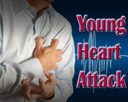 Majority of young heart attack patients unaware of cardiac risks