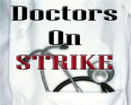 GMCH Nagpur Doctors on strike demanding action against HOD