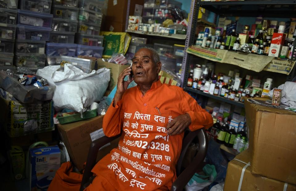 Meet the MEDICINE MAN of the country- he brings pills to the poor