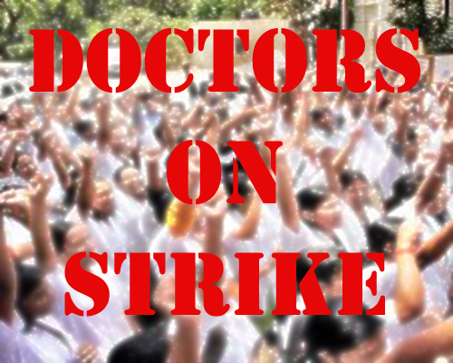 1880 Doctors in Jharkhand on a day long strike against leave system