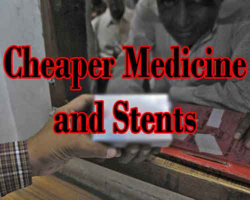 Cheaper Medicines and Stents: Healthcare delayed but not denied