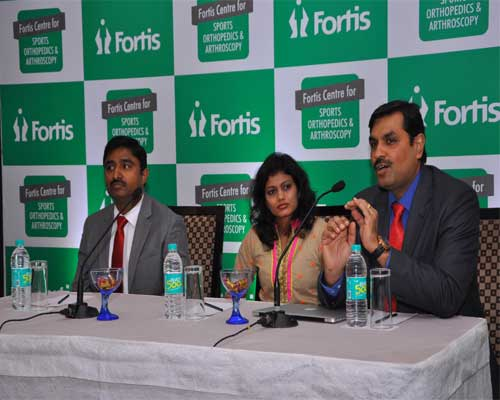 Fortis Hospital uses stem cell therapy to help a sports women
