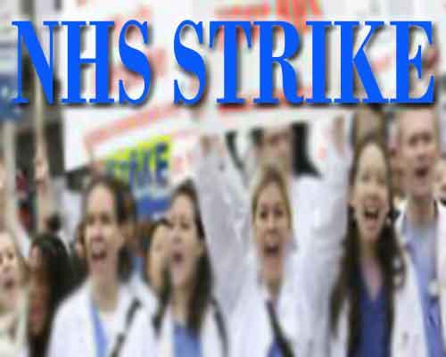 Junior Doctors in UK to go on strike