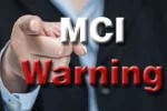 MCI warns 10 private and government medical colleges in Telangana.