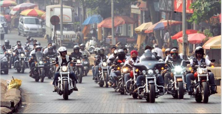 Harley Bike ride
