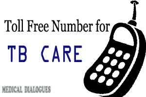 Health ministry launches toll free number for TB care