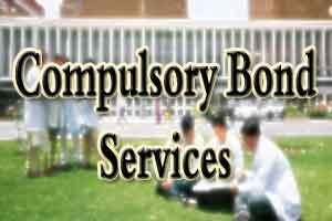 Revenue Recovery Proceedings against doctors violating Compulsory Bond Service