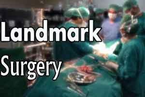 New Delhi: Doctors at Ambedkar Hospital remove a rare giant tumor